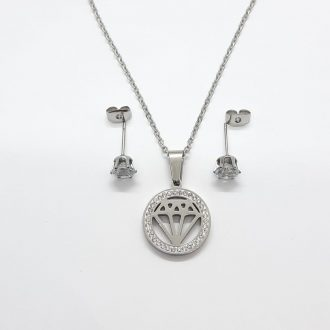 komplet Lunakit - komplet za srečo - jekleni komplet - jekleni nakit - logotip