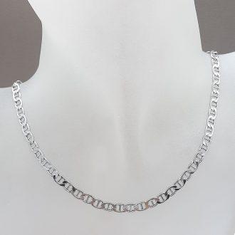 Verižica pancer - osmica - srebrni nakit - nakit za ženske - nakit - srebro